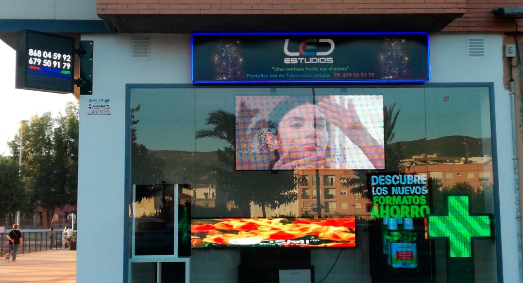 LED ESTUDIOS - Fachada Local Ronda Sur en Murcia
