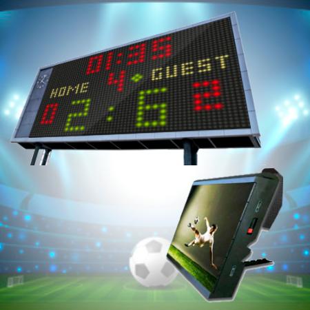 LED ESTUDIOS - Vídeo marcadores deportes y perimetrales led